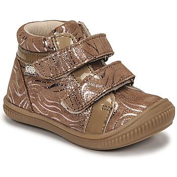 Čevlji  Deklice Visoke superge GBB EDEA Bež