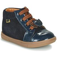 Čevlji  Deklice Visoke superge GBB CHOUBY Modra