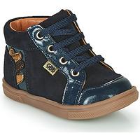 Čevlji  Deklice Visoke superge GBB TERRA Modra