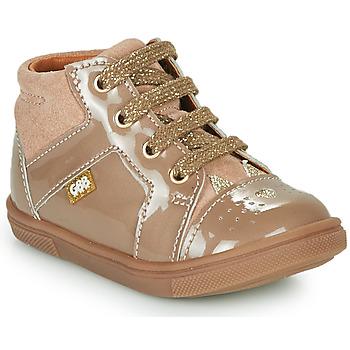Čevlji  Deklice Visoke superge GBB THEANA Bež