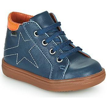 Čevlji  Dečki Visoke superge GBB DOMINICO Modra