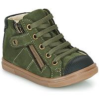 Čevlji  Dečki Visoke superge GBB KAMIL Zelena