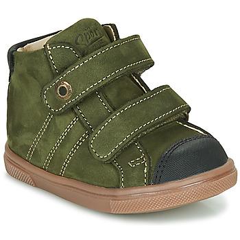 Čevlji  Dečki Visoke superge GBB KERWAN Zelena