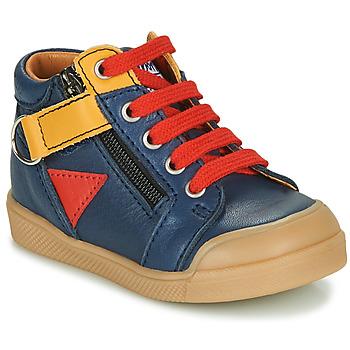 Čevlji  Dečki Visoke superge GBB TIMOTHE Modra