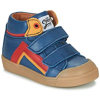 Čevlji  Dečki Visoke superge GBB ERNEST Modra