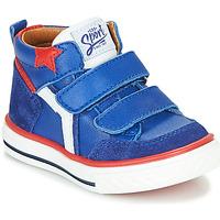 Čevlji  Dečki Visoke superge GBB FLAVIO Modra