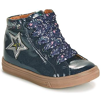 Čevlji  Deklice Visoke superge GBB TADEA Modra