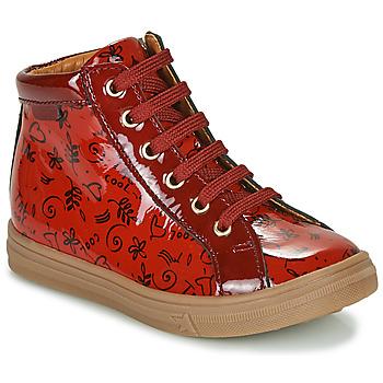 Čevlji  Deklice Visoke superge GBB PHILEMA Rdeča