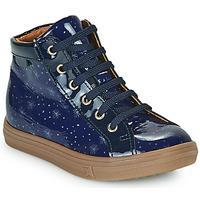 Čevlji  Deklice Visoke superge GBB PHILEMA Modra