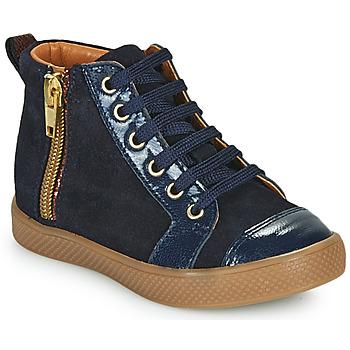 Čevlji  Deklice Visoke superge GBB SAVIA Modra