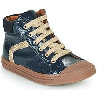 Čevlji  Deklice Visoke superge GBB VIVENA Modra