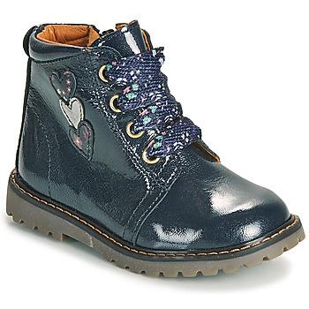 Čevlji  Deklice Visoke superge GBB MOIRA Modra