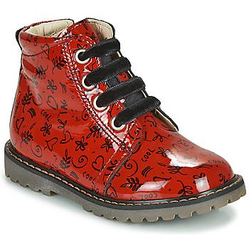 Čevlji  Deklice Visoke superge GBB NAREA Rdeča