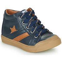 Čevlji  Dečki Visoke superge GBB LEON Modra