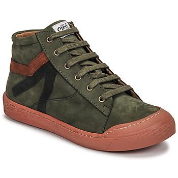 Čevlji  Dečki Visoke superge GBB ARNOLD Zelena