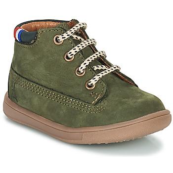 Čevlji  Dečki Visoke superge GBB JEANNOT Zelena