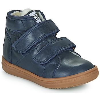 Čevlji  Dečki Visoke superge GBB DIEGGO Modra