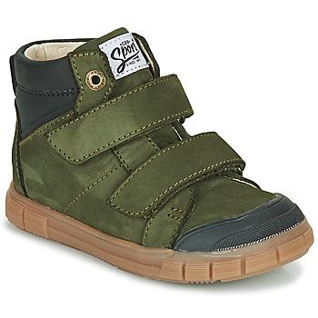 Čevlji  Dečki Visoke superge GBB HENI Zelena