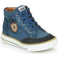 Čevlji  Dečki Visoke superge GBB NATHAN Modra