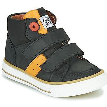 Čevlji  Dečki Visoke superge GBB KIMMY Črna