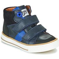 Čevlji  Dečki Visoke superge GBB KIMMY Modra