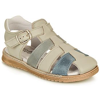 Čevlji  Dečki Sandali & Odprti čevlji Citrouille et Compagnie ZIDOU Siva