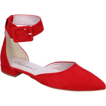 Čevlji  Ženske Balerinke Olga Rubini BJ388 Rdeča