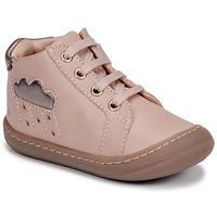 Čevlji  Deklice Visoke superge GBB APOLOGY Rožnata