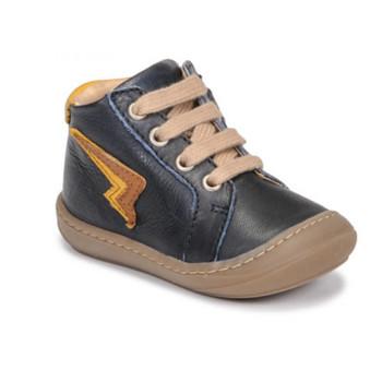 Čevlji  Dečki Visoke superge GBB APODAMI Modra