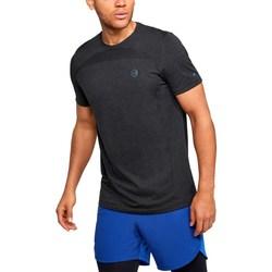 Oblačila Moški Majice s kratkimi rokavi Under Armour Rush HG Seamless Fitted Grafitna