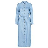Oblačila Ženske Dolge obleke Only ONLCASI Modra