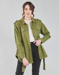 Oblačila Ženske Jakne & Blazerji Only ONLNORA Kaki