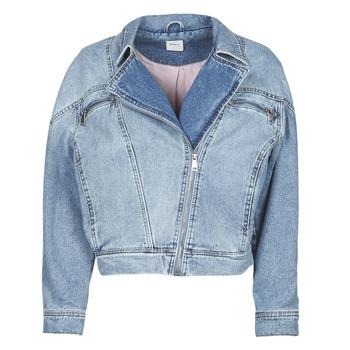Oblačila Ženske Jeans jakne Only ONLJACK Modra