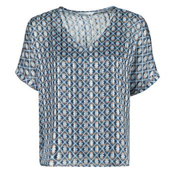 Oblačila Ženske Topi & Bluze Only ONLMADDI Modra