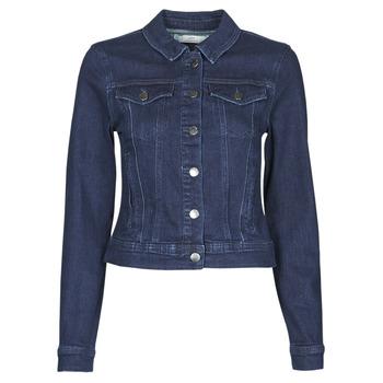Oblačila Ženske Jeans jakne JDY JDYNEWWINNER STR JACKET BOX DNM NOOS Modra