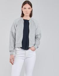 Oblačila Ženske Puloverji JDY JDYNAPA L/S RAGLAN BOMBER JRS Siva