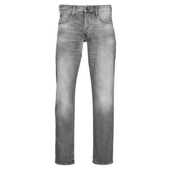 Oblačila Moški Jeans straight G-Star Raw 3301 STRAIGHT Siva