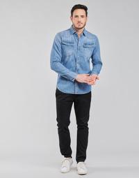 Oblačila Moški Hlače Chino / Carrot G-Star Raw VETAR SLIM CHIN Črna
