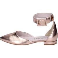 Čevlji  Ženske Sandali & Odprti čevlji Olga Rubini Sandali Pelle sintetica Rosa