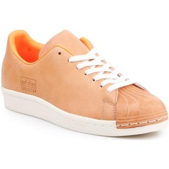 Čevlji  Moški Nizke superge adidas Originals Adidas Superstar 80s Clean BA7767 brown, orange