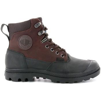 Čevlji  Moški Polškornji Palladium Manufacture Pampa Sport Cuff WP 20 Rjava