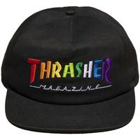 Tekstilni dodatki Moški Kape s šiltom Thrasher Cap rainbow mag snapback Črna
