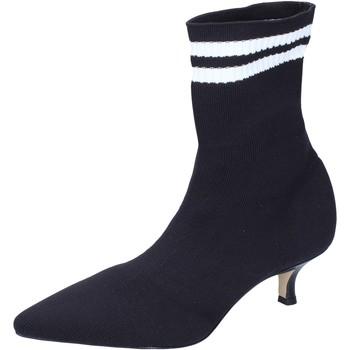 Čevlji  Ženske Gležnjarji Olga Rubini BJ428 Črna