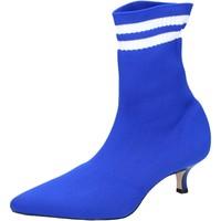 Čevlji  Ženske Gležnjarji Olga Rubini BJ429 Modra