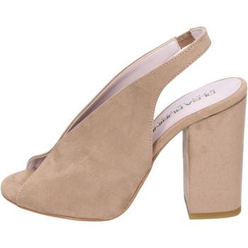 Čevlji  Ženske Sandali & Odprti čevlji Olga Rubini Sandali Camoscio sintetico Beige