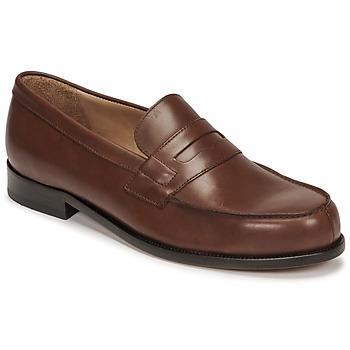 Čevlji  Moški Mokasini Pellet Colbert Kostanjeva