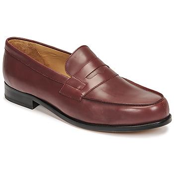 Čevlji  Moški Mokasini Christian Pellet Colbert Rdeča
