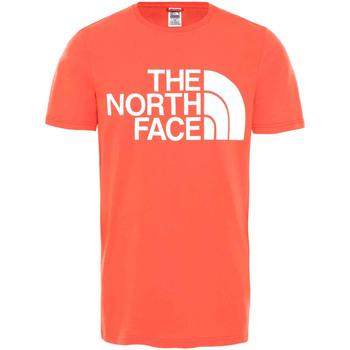 Oblačila Moški Majice s kratkimi rokavi The North Face NF0A4M7X Rdeča