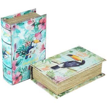 Dom Kovčki in škatle za shranjevanje Signes Grimalt Paper Box September 2 Enote Multicolor