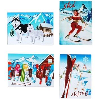 Dom Božična dekoracija Signes Grimalt Snežne Magnetni September 4 U Multicolor